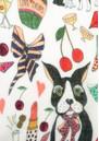 UNIVERSE OF US Dancing Dogs Wool Scarf - Multi