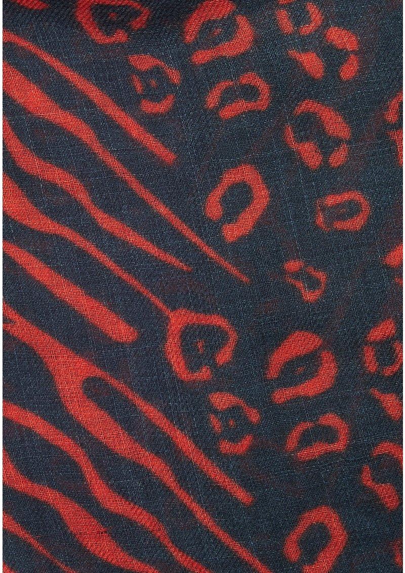 UNIVERSE OF US Safari Wool Scarf - Nights main image