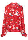 Lily and Lionel Maddox Silk Shirt - Love Heart Floral