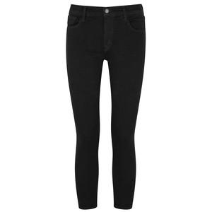 835 Mid Rise Super Skinny Jean - Crystal Black