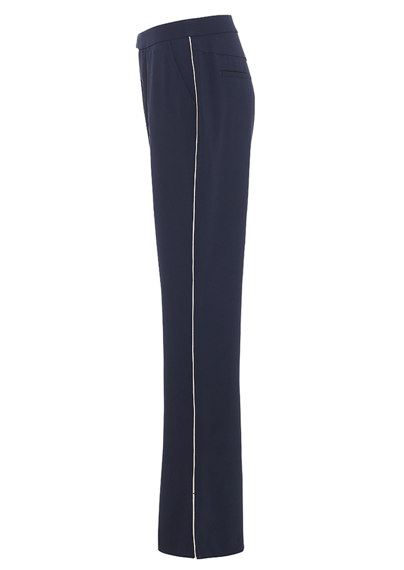 CUSTOMMADE Malou Piped Trousers - Night Sky main image
