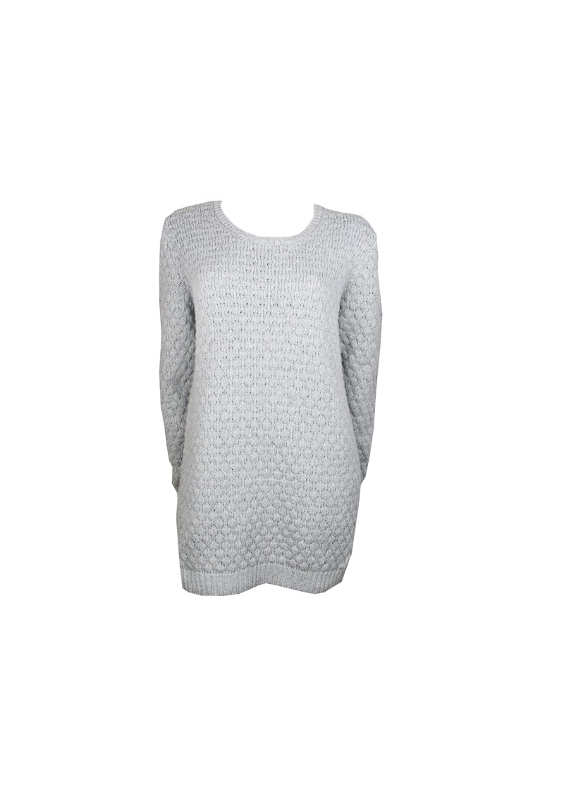 American Vintage Big Sky Country Knit Jumper - Heather Grey main image