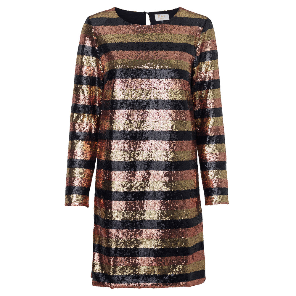 Day Mariah Sequin Dress - Black