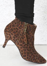 SHOE THE BEAR Agnete Suede Boots - Leopard