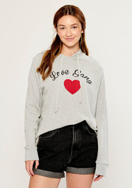 SOUTH PARADE Love Gang Hoodie - Grey