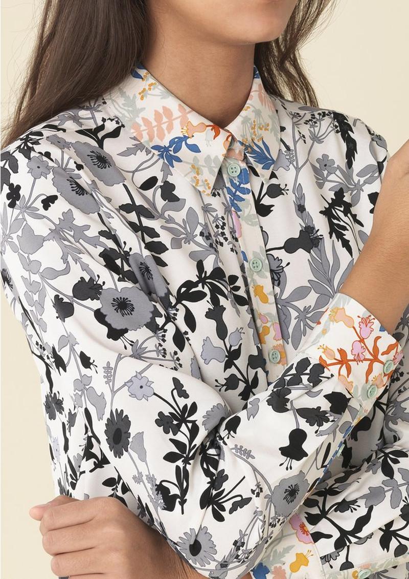 STINE GOYA Maxwell Shirt - Flowers main image