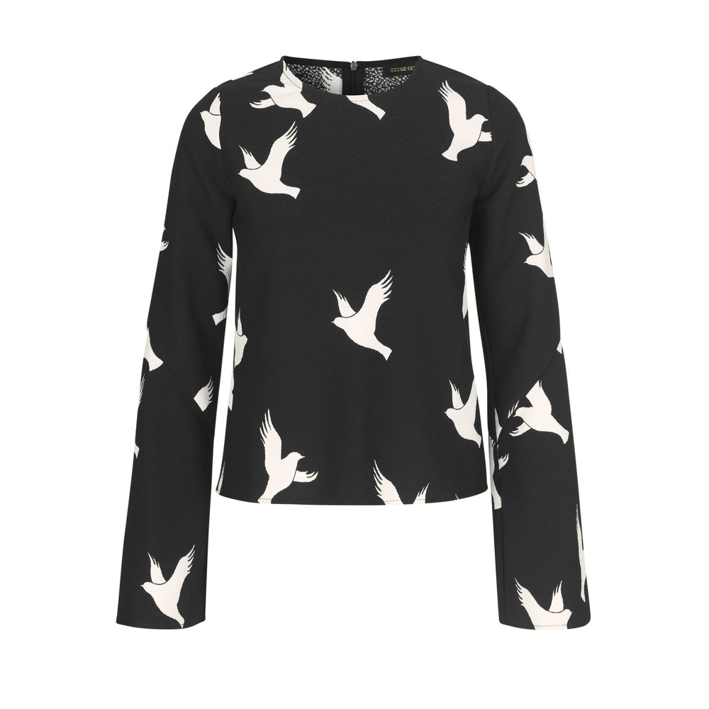 Blair Top - Dove Black