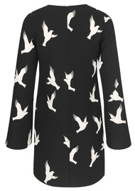 STINE GOYA Atwood Dress - Doves Black