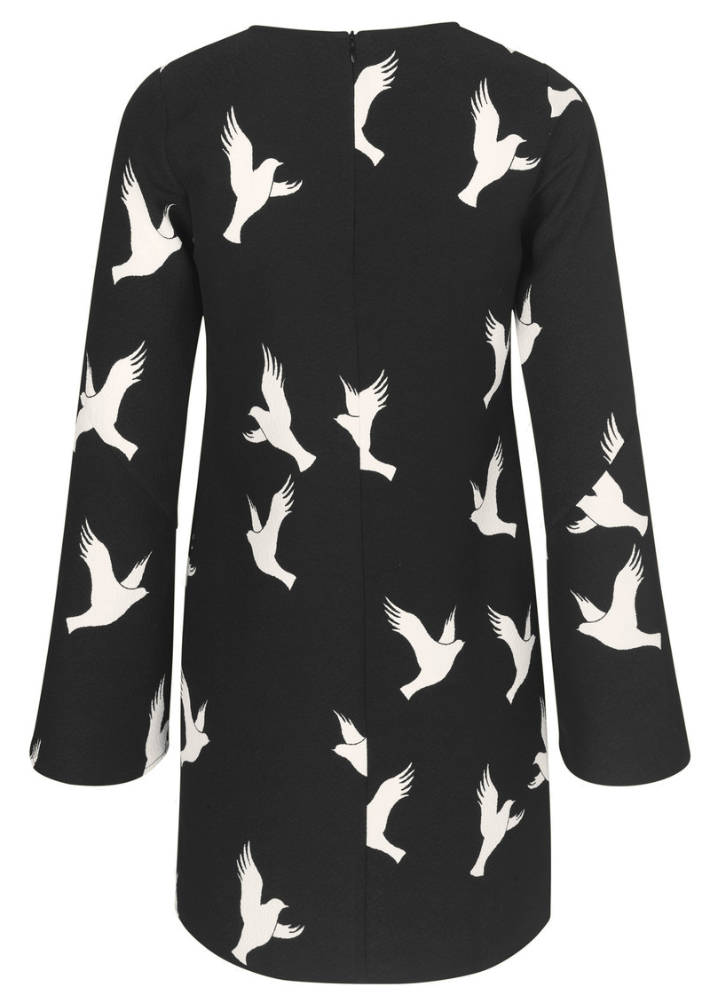 STINE GOYA Atwood Dress - Doves Black main image