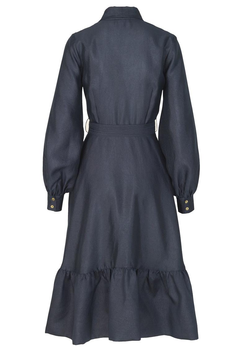 STINE GOYA Niki Wrap Dress - Midnight Blue main image