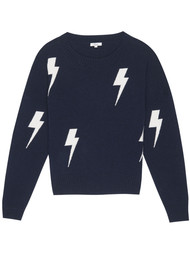 Rails Presley Lightning Pullover - Navy & White