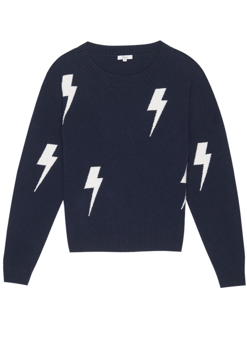 Rails Presley Lightning Pullover - Navy & White  main image