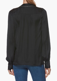 Paige Denim Selene Blouse - Black