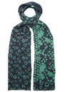 Skull Snake Wool Scarf - Navy additional image