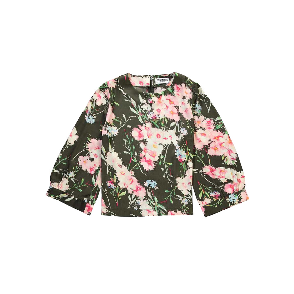 Saad Floral Boxy Top - Duffel Bag