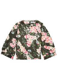 ESSENTIEL ANTWERP Saad Floral Boxy Top - Duffel Bag