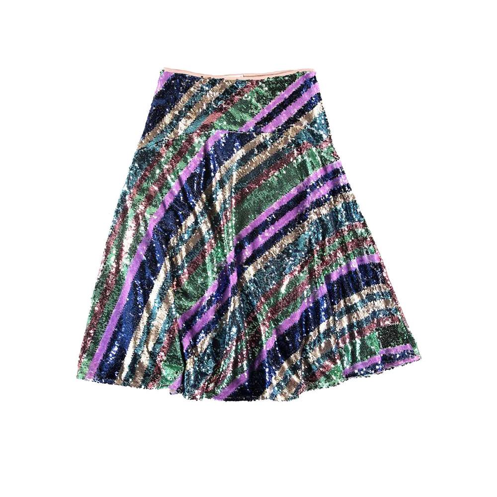 Salute Rainbow Sequin Skirt - Duffel Bag