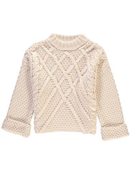 ESSENTIEL ANTWERP Sacramo Round Neck Sweater - Off White