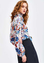 Saadiq Floral Blouse- Off White  additional image