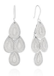 ANNA BECK XL Chandelier Earrings - Silver
