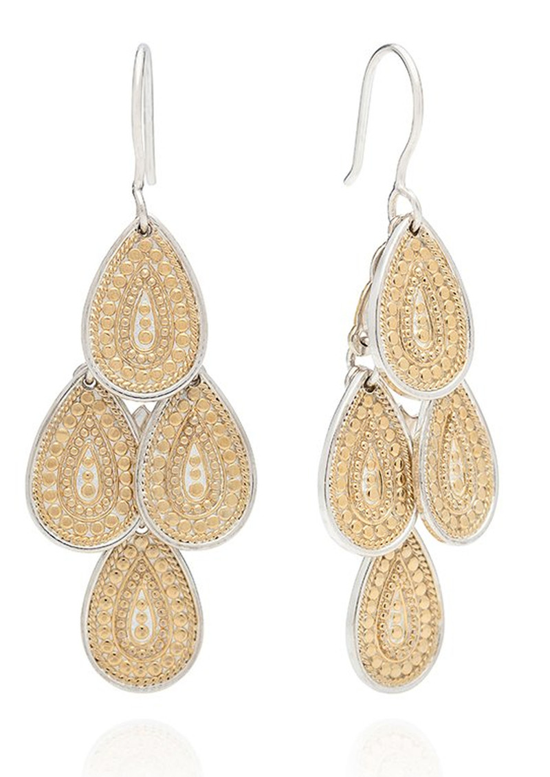 ANNA BECK XL Chandelier Earrings - Gold main image