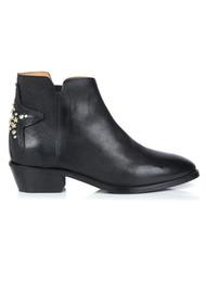AIR & GRACE Stellar Leather Boot - Black