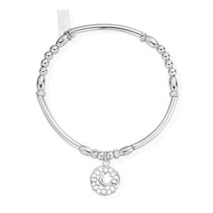 Starry Night Moon Bracelet - Silver