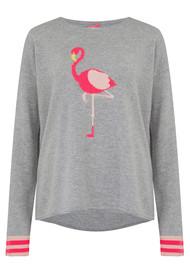 COCOA CASHMERE Flamingo Cashmere Jumper - Grey