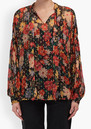 Lily and Lionel Jess Blouse - Midnight Floral