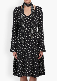 Lily and Lionel Cosmos Harley Dress - Black & Ivory
