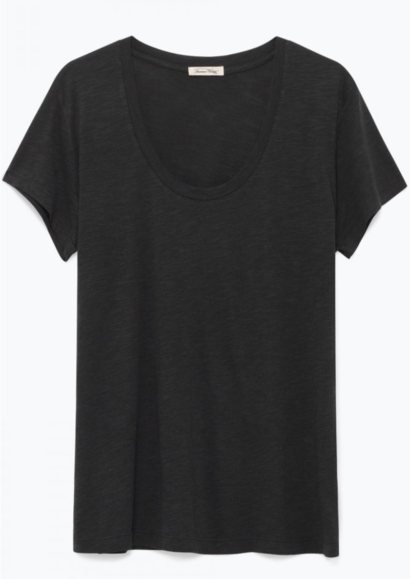 Jacksonville U Neck Short Sleeve Tee - Carbon main image