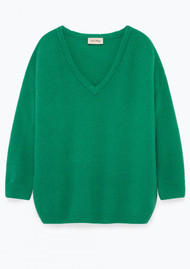 American Vintage Viki Long Sleeve Jumper - Mint Syrup