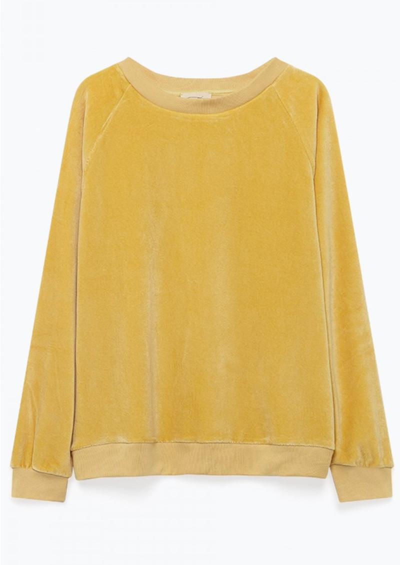 American Vintage Isacboy Sweatshirt - Butter main image