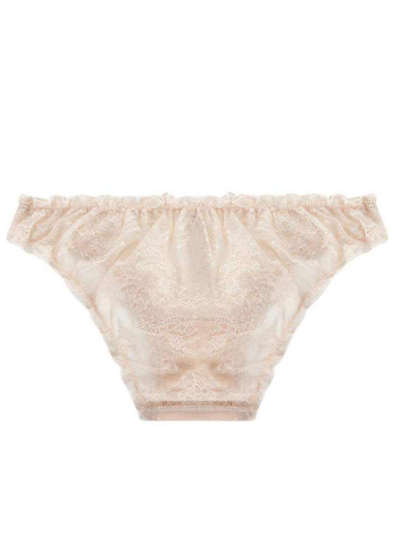 LOVE STORIES Lolita Lace Brief - Sand main image