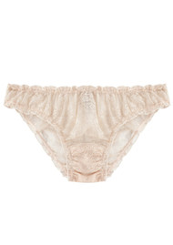 LOVE STORIES Lolita Lace Brief - Sand