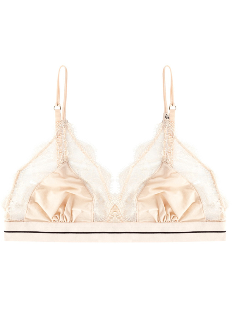 LOVE STORIES Love Lace Bralette - Sand main image