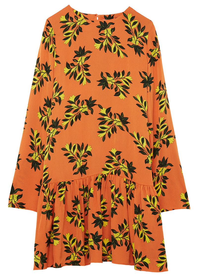 Twist and Tango Tilly Dress - Orange Floral main image