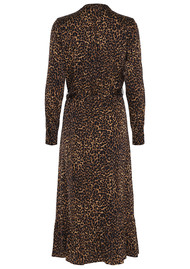 CUSTOMMADE Beatha Leopard Dress - Camel