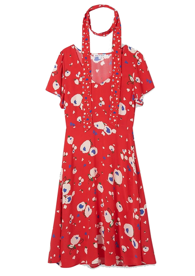 Lily and Lionel Lea Silk Dress - Love Heart main image