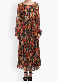 Lily and Lionel Indian Sunset Dress - Midnight Floral