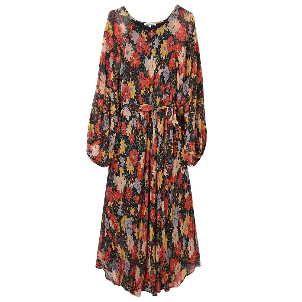 Indian Sunset Dress - Midnight Floral