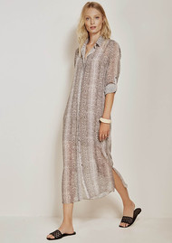 DANTE 6 Sophia Dress - Taupe