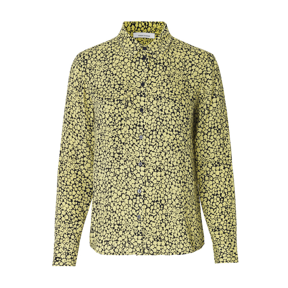 Milly Floral AOP Shirt - Butter