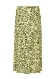 SAMSOE & SAMSOE Limon Floral L Wrap Skirt - Butter