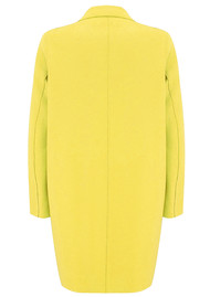 HARRIS WHARF Cocoon Coat - Pineapple