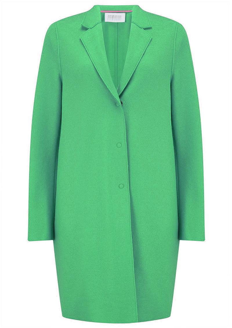 HARRIS WHARF Cocoon Coat - Jade main image