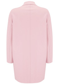 HARRIS WHARF Cocoon Coat - Rose