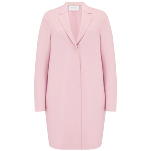 Cocoon Coat - Rose