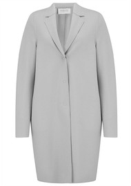 HARRIS WHARF Cocoon Coat - Cloud