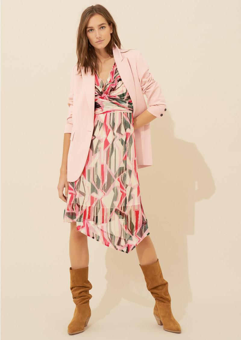 Ba&sh Beryl Dress - Pink Rose main image